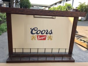 Coors Bar Mirror