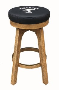Fireball Round Backless Stool