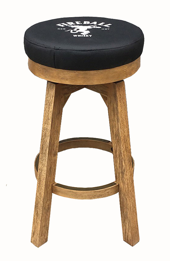 30 Fireball Round Backless Stool The Pool Shoppe