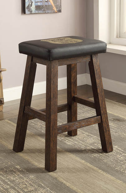 "Miller 30"" Saddle Stool"