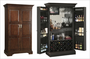 Wine and Bar Cabinets