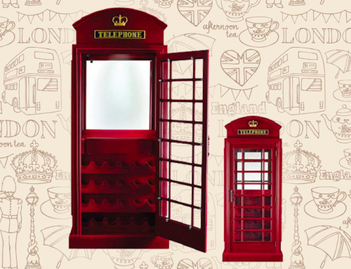Featured on Cityline – Our Old English Telephone Bar Cabinet!