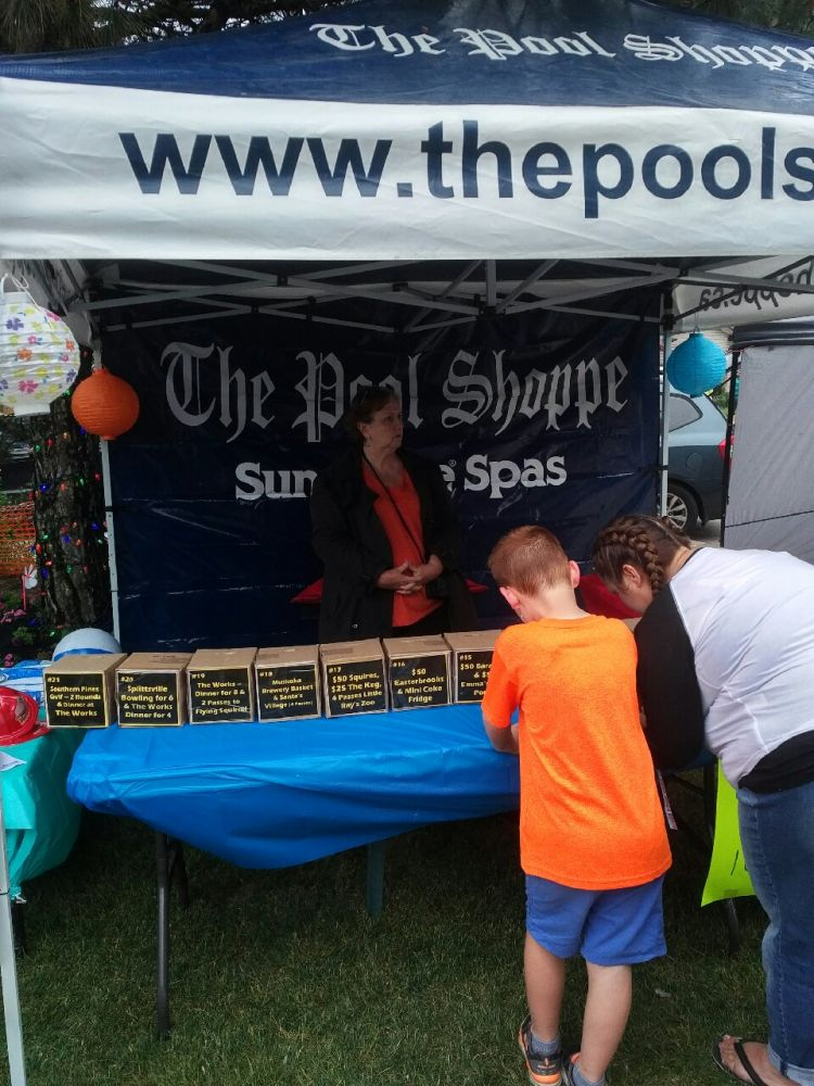 The Pool Shoppe Tent