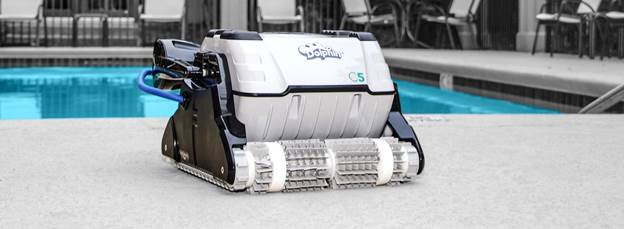 C5 Commercial Robotic Pool Cleaner