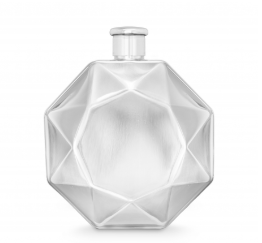 Luxe Diamond Flask – Stainless Steel