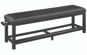 Spectator Storage Bench - Angled