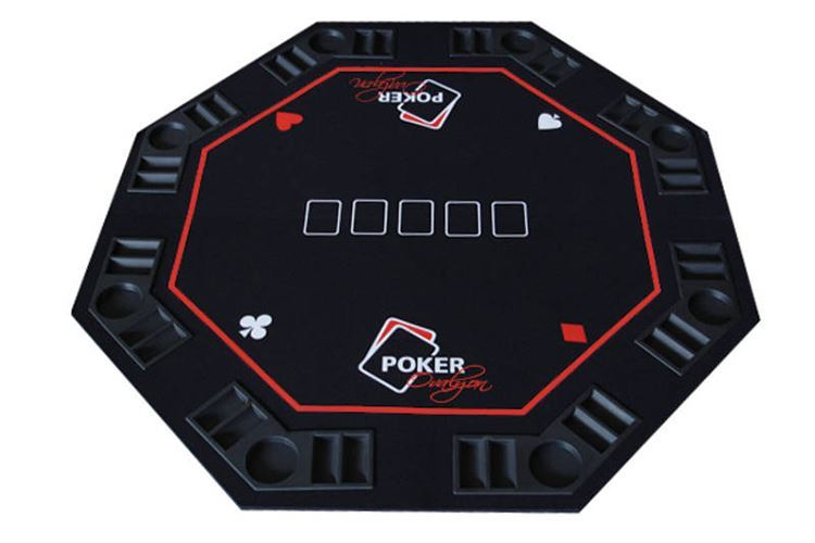 Deluxe Octagonal Folding Poker Top
