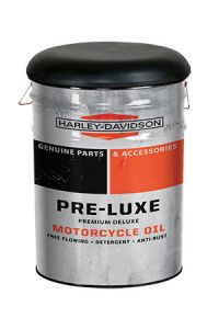 H-D® Pre-Luxe Bucket Stool With Storage