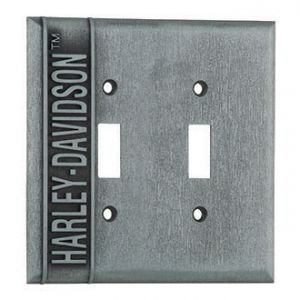 Double Switch Plate Cover - Harley-Davidson