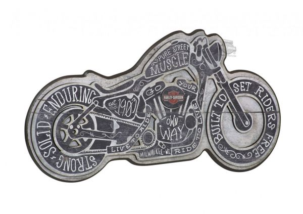 H-D® Sign- Street Muscle