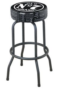 Jack Daniel's Backless Bar Stool
