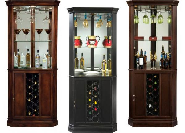 Piedmont Wine and Bar Cabinet