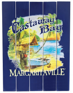 Pine Wood Margaritaville Sign