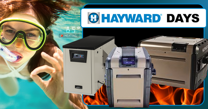 Hayward Days Sale Heaters