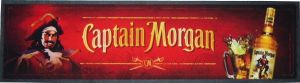 Captain Morgan Wet Stop Bar Runner