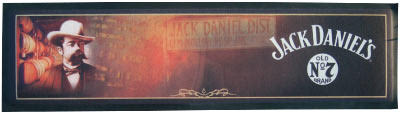 Jack Daniel's Wet Stop Bar Runner