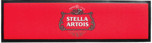 Stella Artois Wet Stop Bar Runner