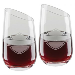 H-D® Stemless Wine Glasses