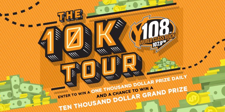 Y108 $10,000 Tour