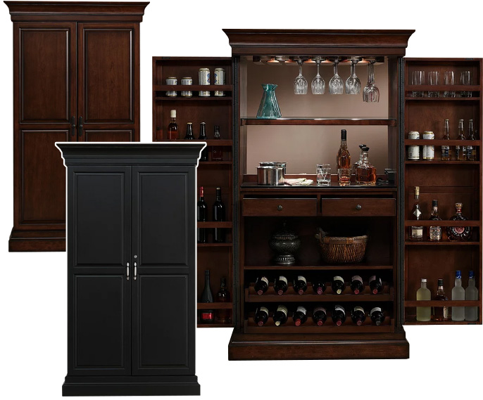 Angelina Wine and Bar Cabinet