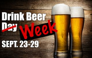 Drink Beer Week 2019