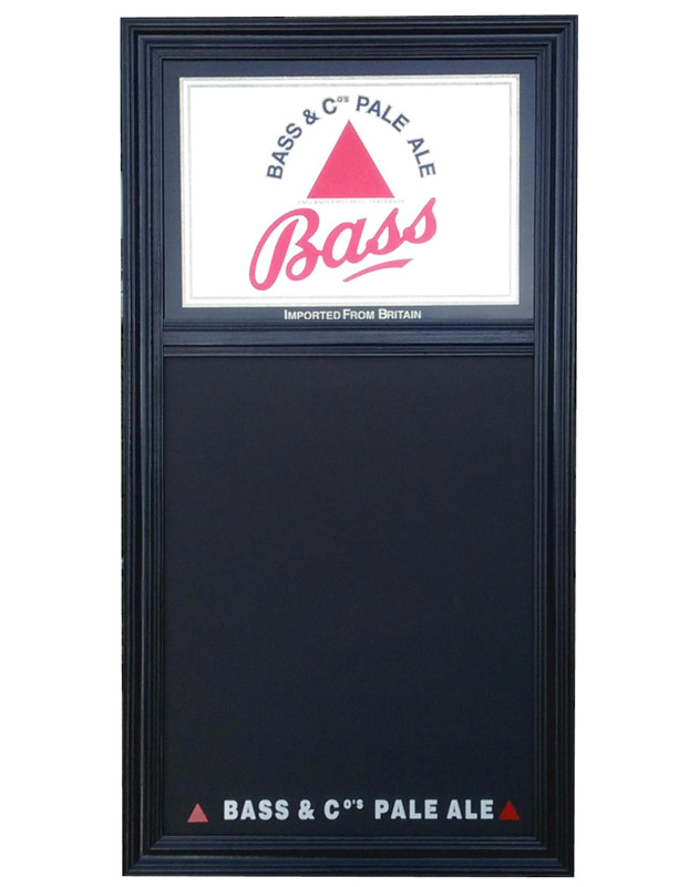 Bass Ale & Co. Chalkboard and Mirror