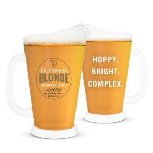 Guinness Blonde Plastic Pitcher
