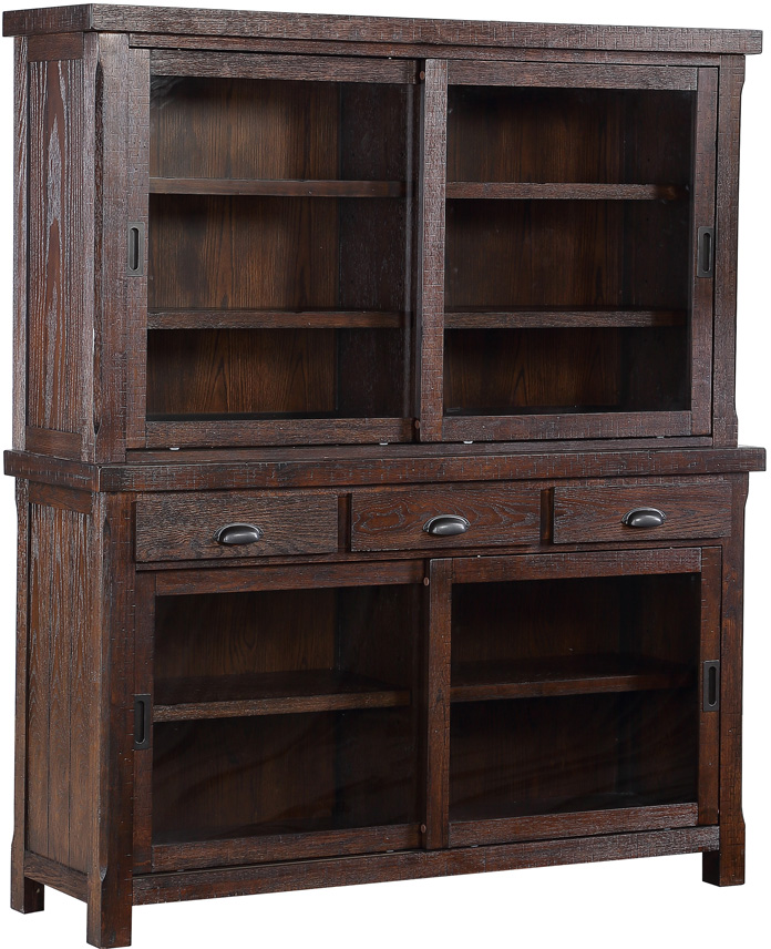 Gettysburg Hutch with Shelves