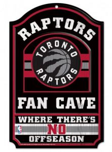Raptors Fan Cave Sign