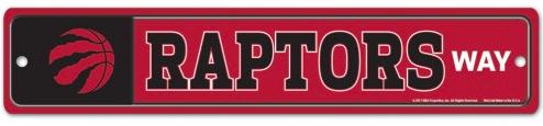 Raptors Way Sign