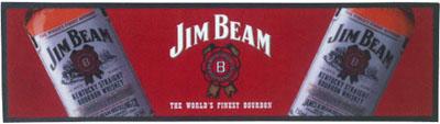 Jim Beam Wet Stop Bar Runner