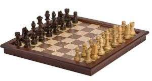 "Chess Set - 17"" Folding Tournament Style"