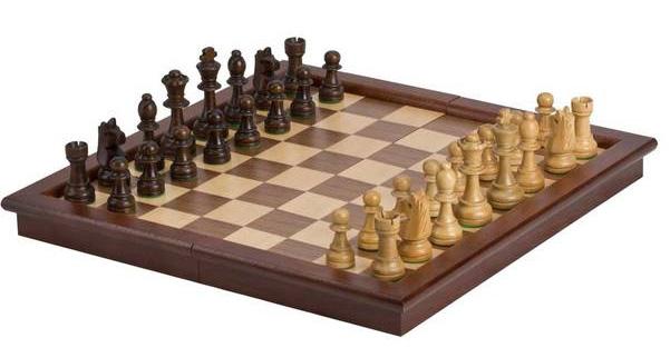 "Chess Set - 17"" Folding Tournament Style"