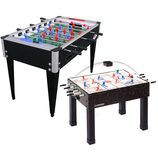 Foosball and Dome Hockey Tables