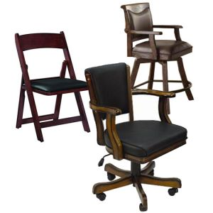Poker Game Chairs