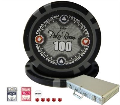 VIP Poker Room Chip Set