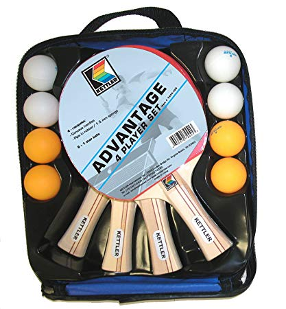 Deluxe 4-Player Table Tennis Kit
