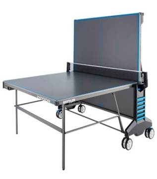 Kettler Indoor 4.0 Table Tennis - Folded